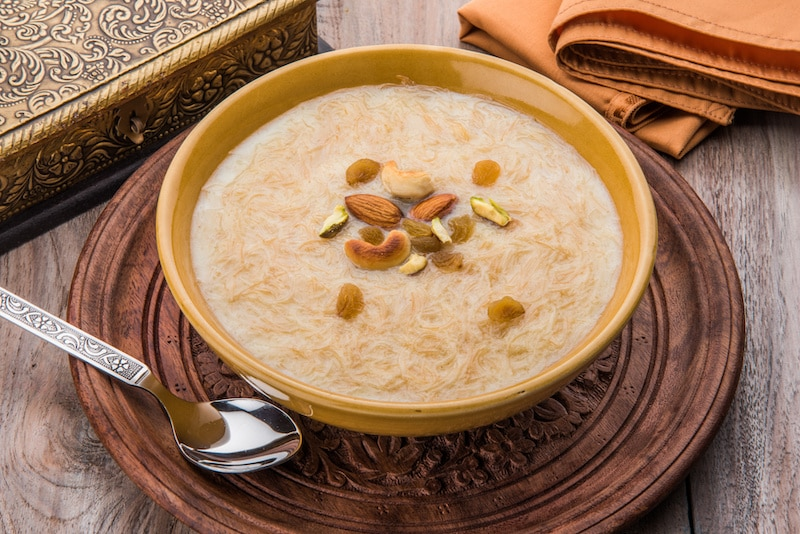 Image of Indian dish, Kheer.