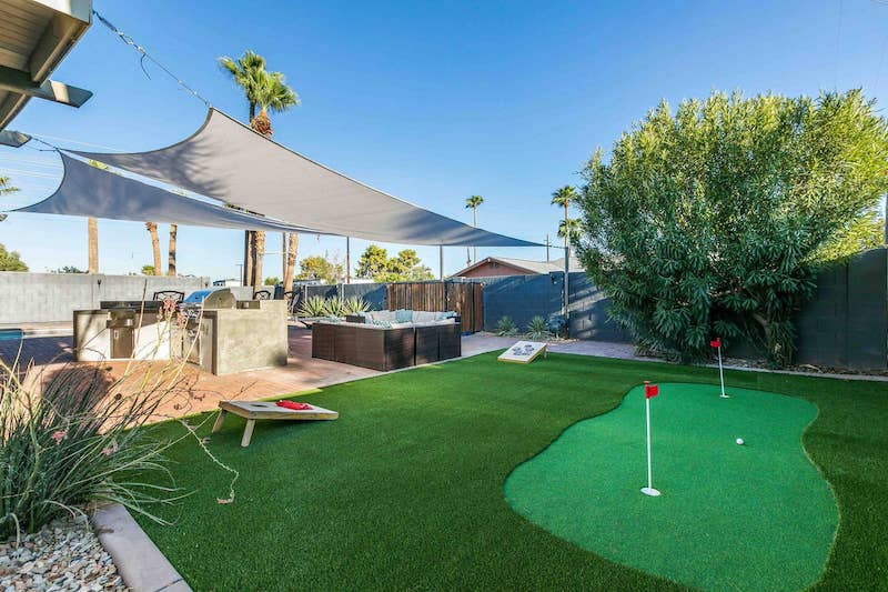 Fun Airbnb in Scottsdale, Arizona.