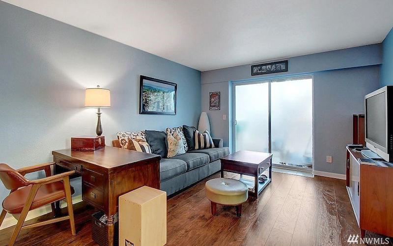 Modern condo in Bellevue, Washington.