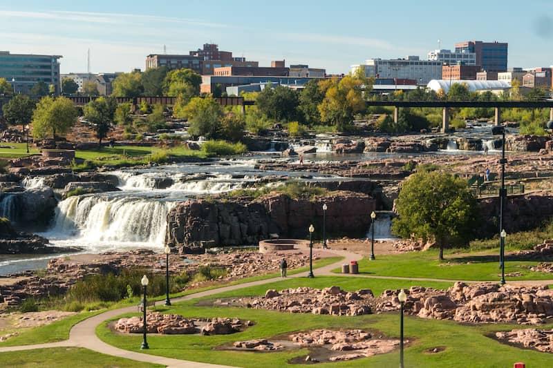 Lovely Park In Sioux City South Dakota