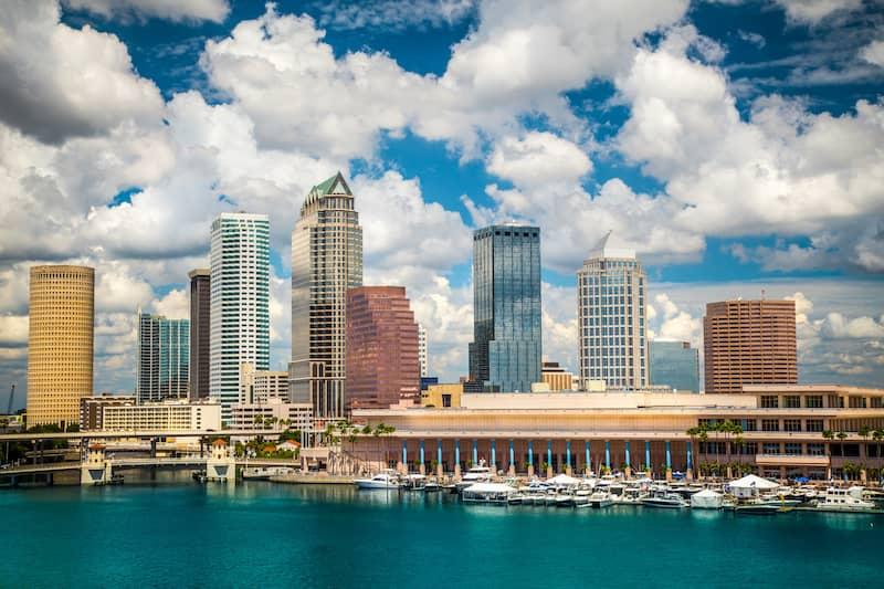 Tampa, Florida skyline.