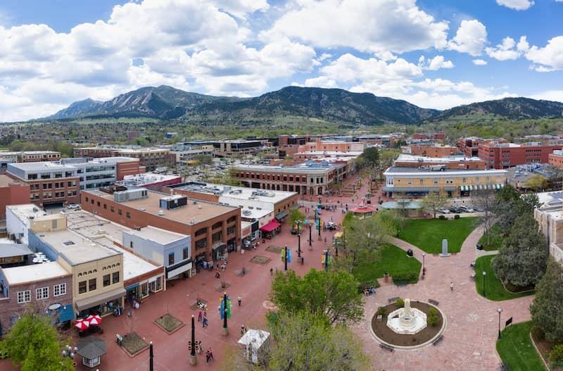 Boulder Pearl Street Mall Colorado