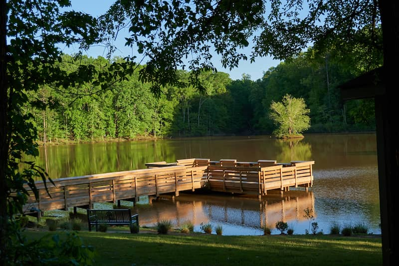 dock in Fort Mill, South Carolina