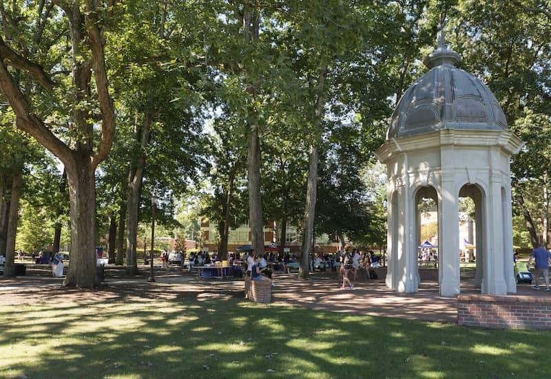 Students Attend A Career Fair At East Carolina University