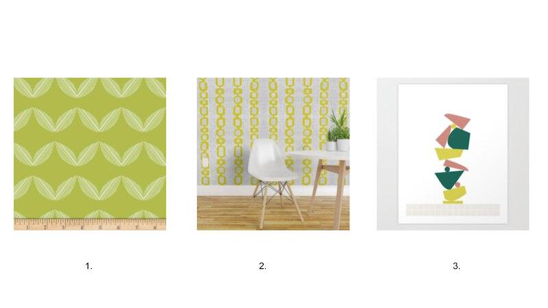 Chartreuse Decor Patterns