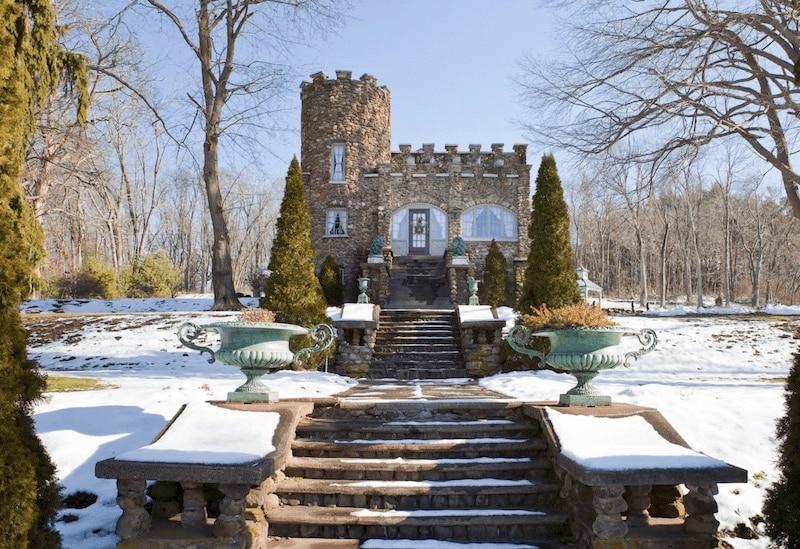 Storybrook Castle in Ellington, Connecticut.