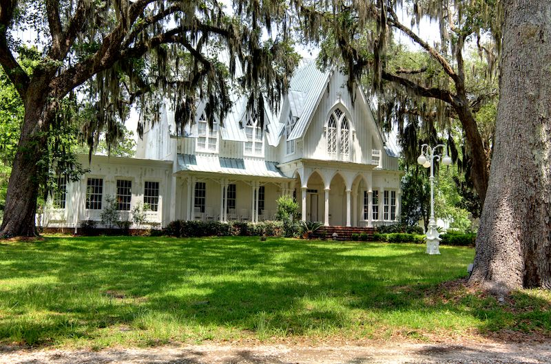 Rose Hill Mansion, Gothic Revival Victorian-style home