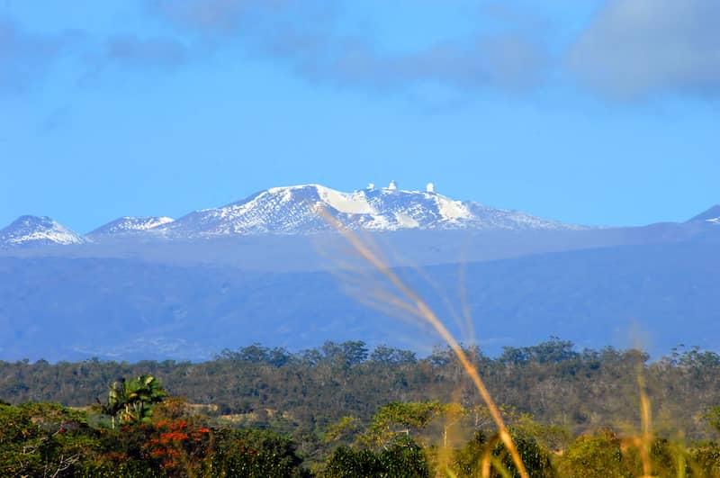 Mountain View in Hawaii