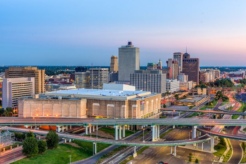 Most Affordable Big Cities In The US Memphis, Tennessee