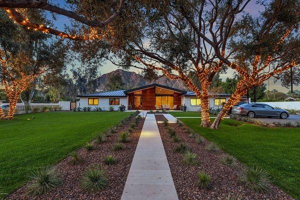 Modern Phoenix mansion.