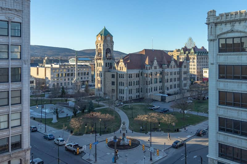 Lackawanna County Courthouse Square