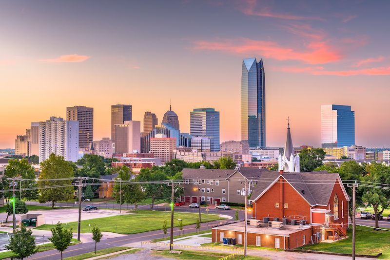Most Affordable Big Cities In The US Oklahoma City, Oklahoma