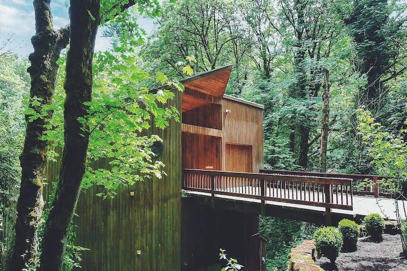 Retreat in Portland, Oregon.