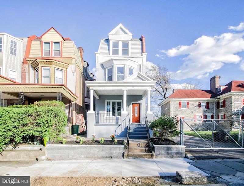 Victorian-style home in Philadelphia, Pennsylvania.