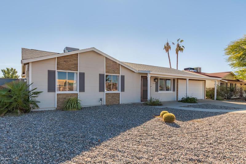 Desert home in Phoenix, Arizona.