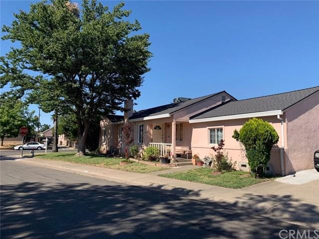 Pink home in Sacramento, California.