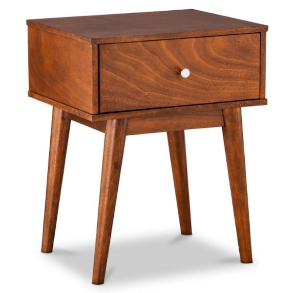 Midcentury modern side table.