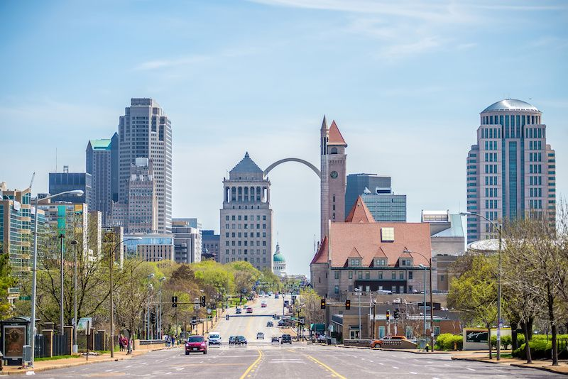 Most Affordable Big Cities In The US St. Louis, Missouri