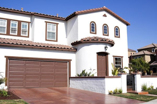Pueblo-inspired home.