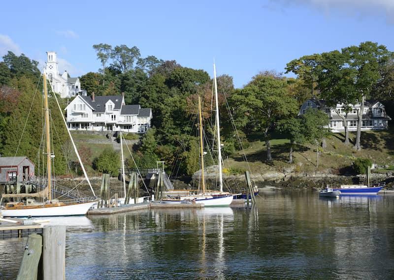 Rockport Maine Harbor