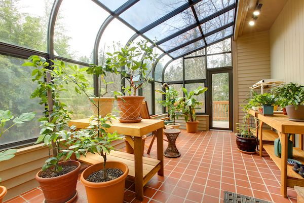 Garden sunroom