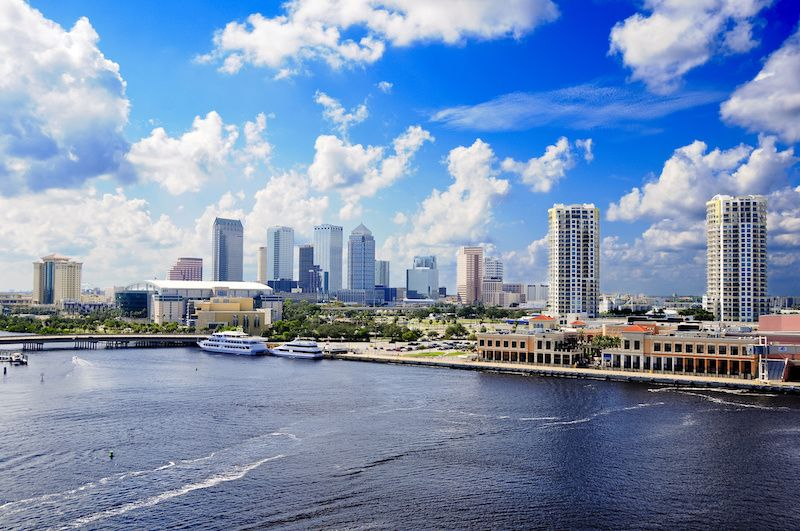 Most Affordable Big Cities In The US Tampa, Florida
