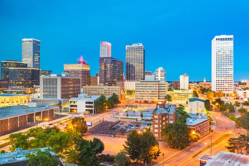 Most Affordable Big Cities In The US Tulsa, Oklahoma