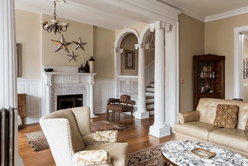 Five-bedroom home in Richmond, Virginia.