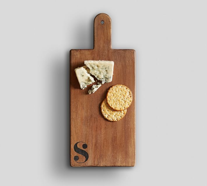 Alphabet Wood Cheese Board.