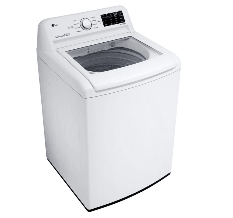 Budget friendly top load washer by LG