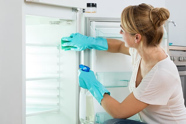 clean fridge for the holidays