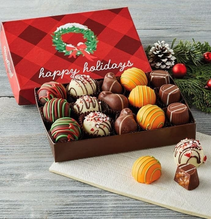 Holiday chocolate collection