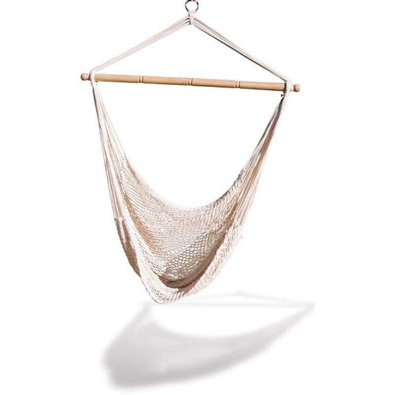 cozy hanging hammock
